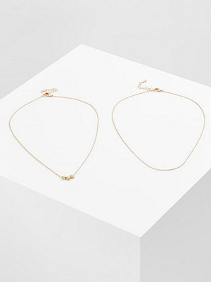 Only MELINA GIFT CARD BOX 2 PACK Halsband goldcoloured