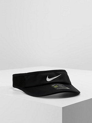 Kepsar - Nike Performance AEROBILL FEATHERLIGHT VISOR ADJUSTABLE Keps schwarz