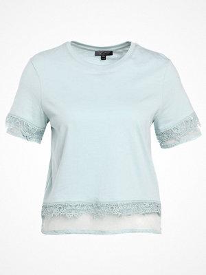 Topshop DOBBY    Tshirt med tryck mint