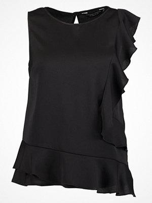 Dorothy Perkins BUBBLE RUFFLE Blus black