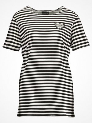 12 Midnight BRETON PATCH Tshirt med tryck black