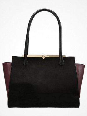 Dorothy Perkins omönstrad shopper Shoppingväska black