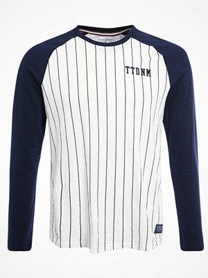 Tom Tailor Denim LONG ARM RAGLAN BASEBALL STRIPE Tshirt med tryck original