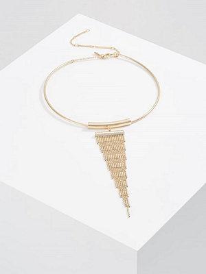 Topshop TASSEL TORQ Halsband goldcoloured