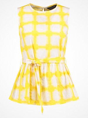 Dorothy Perkins PRINT PEPLUM  Blus yellow