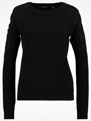 Dorothy Perkins COLD SHOULDER Stickad tröja black