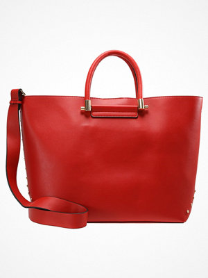 Handväskor - Topshop SIMONA STUD Handväska red