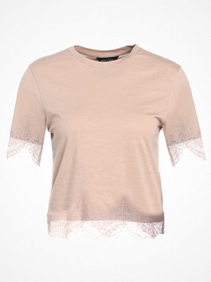 New Look SCALLOP TRIM Tshirt med tryck wolf