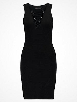 Even&Odd Jerseyklänning black