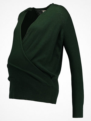 Zalando Essentials Maternity Stickad tröja dark green