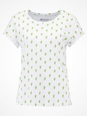 Even&Odd CACTUS Tshirt med tryck white