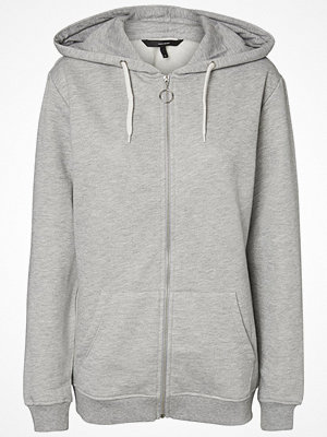 Street & luvtröjor - Vero Moda VMHEYA Sweatshirt light grey melange
