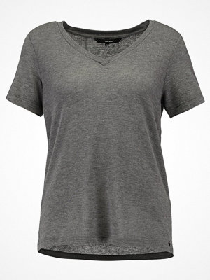 Vero Moda VMHONIE  Tshirt med tryck medium grey melange