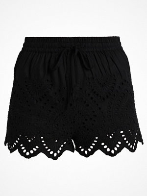 Topshop CUTWORK BRODERIE Shorts black