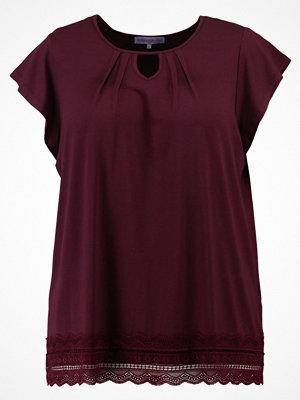 Anna Field Curvy Tshirt med tryck dark red