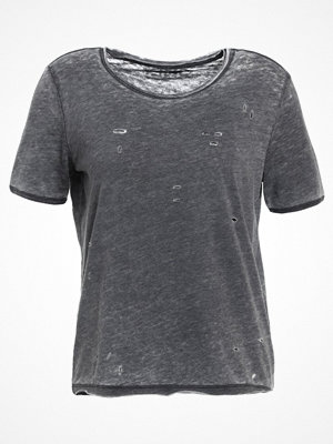 Only ONLDENIM  Tshirt med tryck dark grey