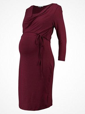 Anna Field MAMA Jerseyklänning zinfandel