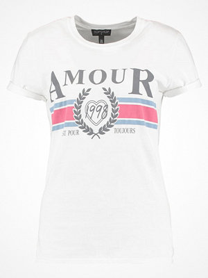 Topshop AMOUR  Tshirt med tryck white