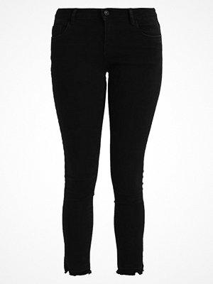 Vero Moda VMFIVE FOLD SLIT Jeans Skinny Fit black