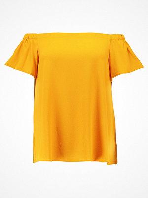 New Look Curves BUBBLE BARDOT Blus dark yellow