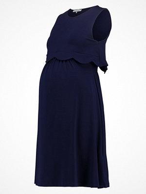 Anna Field MAMA Jerseyklänning dark blue