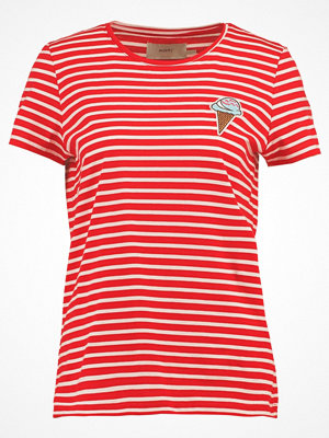 Moves LULU ICE Tshirt med tryck flame scarlet
