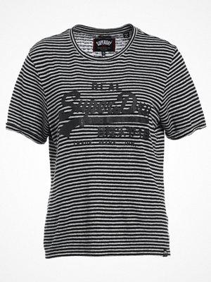 Superdry VINTAGE LOGO BOXY  Tshirt med tryck black