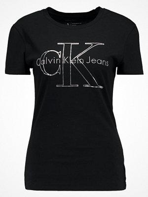Calvin Klein Jeans TANYA TRUE ICON  Tshirt med tryck black
