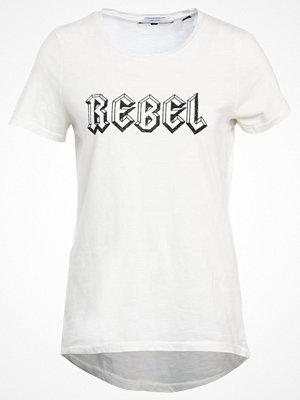 Vero Moda VMMUSE Tshirt med tryck snow white