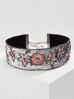 Topshop SEQUIN Halsband pink multi