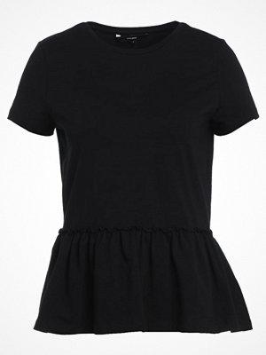 Vero Moda Tshirt med tryck black