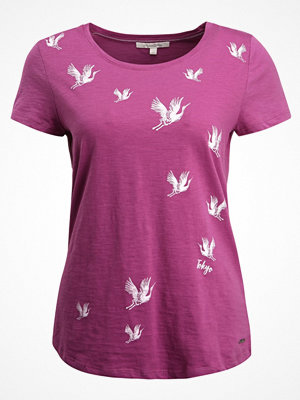 Tom Tailor Denim EASY PRINT Tshirt med tryck washed berry