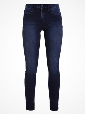 Vila VICOMMIT Jeans Skinny Fit dark blue denim