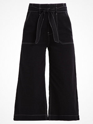 Topshop STAB STITCH  Flared jeans black