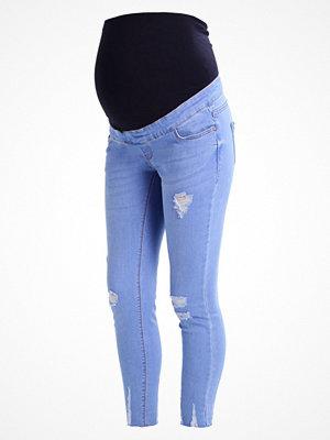 New Look Maternity CHERRI BRIGHT Jeans Skinny Fit blue