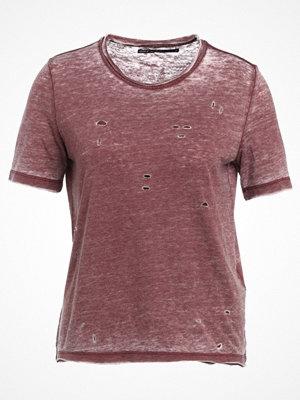 Only ONLDENIM  Tshirt med tryck zinfandel