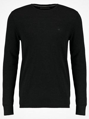 Tröjor & cardigans - Calvin Klein Jeans STAG Stickad tröja black