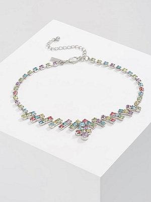 Topshop ZIGZAG CHOKER Halsband pastel multi