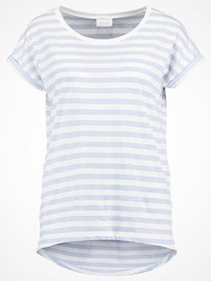 Vila VIDREAMERS PURE LUX Tshirt med tryck celestial blue/snow white