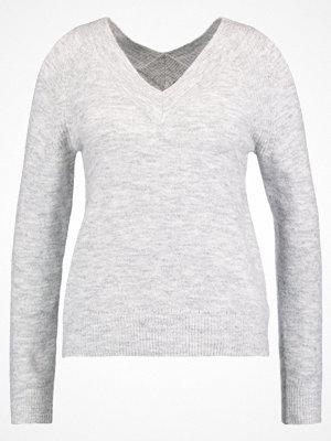 Dorothy Perkins COLD SHOULDER Stickad tröja grey