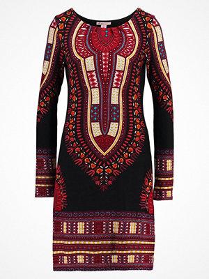 Anna Field Stickad klänning red/black