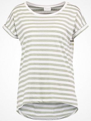 T-shirts - Vila VIDREAMERS PURE LUX Tshirt med tryck seagrass/snow white