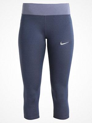 Sportkläder - Nike Performance POWER ESSENTIAL DRIFIT Träningsshorts 3/4längd thunder blue/armory blue