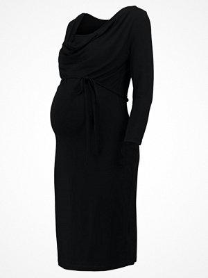 Anna Field MAMA Jerseyklänning black
