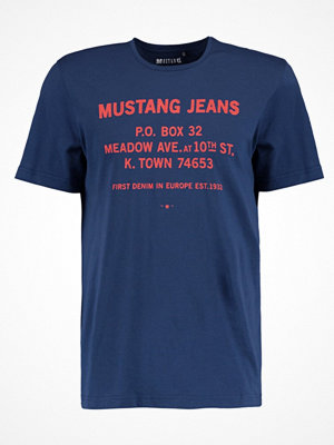 Mustang MEADOW AVE Tshirt med tryck insignia blue