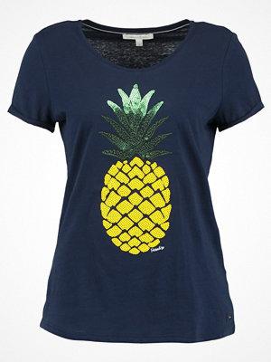 Tom Tailor Denim Tshirt med tryck real navy blue