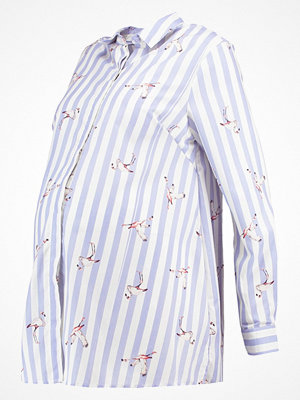 New Look Maternity FLAMINGO STRIPE Skjorta blue