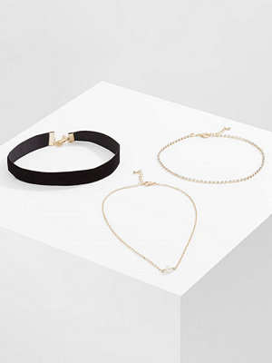 Only MIMI 3 PACK Halsband goldcoloured