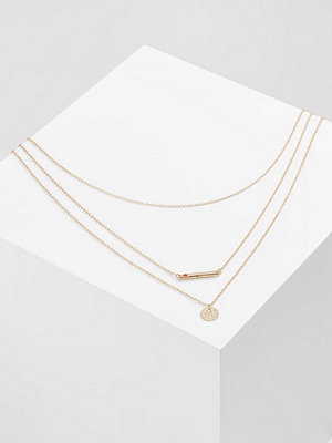 Only MERCY 3CHAIN  Halsband goldcoloured