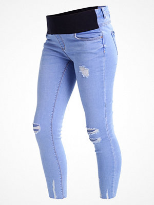 New Look Maternity Jeans Skinny Fit blue